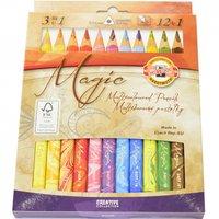 Pastelky 3408/12 MAGIC 3HR