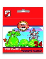 Pastelky 8234/24ks WAX PASTELS voskové