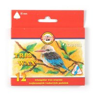 Pastelky 8252/12ks WAX PASTELS voskové 10mm trojhranné
