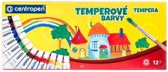 Barvy TEMPERA 12ks CENTROPEN