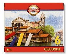 Křídy GIOCONDA olejové ( 6 bar.) 8111