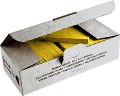 Křída ŠKOLNÍ žlutá, 100ks 112501