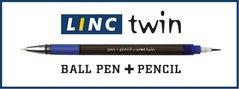 Pero kuličkové Linc Twin + grafitová tužka LNA3080