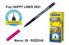 Fixy HAPPY LINER 2521/1 KK, 0,3mm, 30-růžová