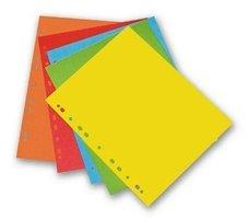 Rozdružovač A4s Europerforací HIT, mix barev, 240g, 50x20ks/100, 310.11