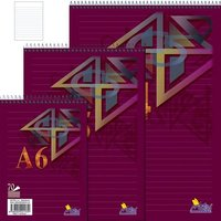 Blok A4 spirála 14074/1b (linka) 8mm   NOTES
