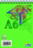 Blok A6 spirála 16075/1b (čtvereček)   NOTES