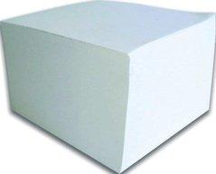 Kostka papírová  9x9x4,5 lepená  bílá