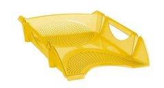 Box kancelářský, děrovaný, žlutý, transparentní       754147 KOH-I-NOOR