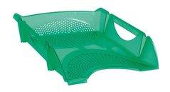 Box kancelářský, děrovaný, zelený, transparentní      754148 KOH-I-NOOR