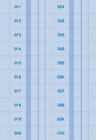 Bonová kniha 1-1000 čísel A4 ET400