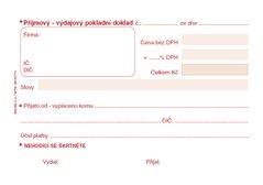 Univerzální pokladní doklad A6 propisující PT060