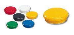 Magnet 13mm, žlutý