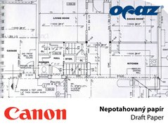 PLOT Canon Draft Paper  914x120m/ 75g/35     IJM009