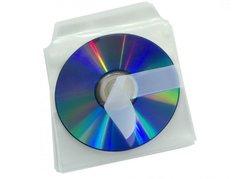 Obálka na CD samolepící s klopou BANTEX 2078