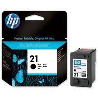 CTR-HP C9351AE  HP 21 Black 150str., 5ml, orig. ink.