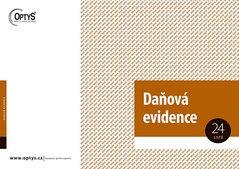 Daňová evidence s klopou A4 OP1001