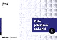 Kniha pohledávek a závazků A4 OP1008