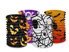 Lampion Halloween válec - mix         1020121