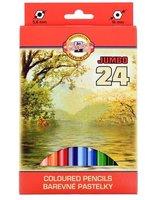 Pastelky JUMBO 3384/24 silné