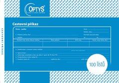 Cestovní příkaz A5, 100 listů OP1051