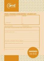 Zpráva o provedení čištění a kontroly spalinové cesty A5, samopropisovací, 100 l, OP1217