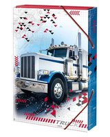 Box na sešity 'Truck'- s gumou A4 Argus     1231-0306