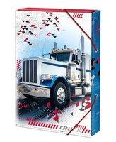 Box na sešity 'Truck' - s gumou A5 Argus      1241-0306
