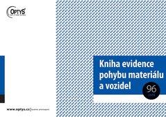Kniha evidence pohybu materiálu A4, 96 listů OP1244