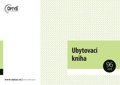 Ubytovací kniha A4 OP1272