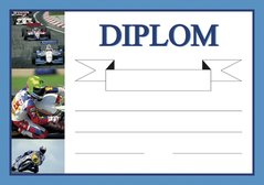 Diplom A5 Moto - sport BD036