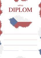 Diplom A5 Česko BD044