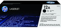 CTR-HP Q2612A Black  2000str.orig. HP 12A, HP Laser 1010, 1012, 1015, 1020, 1