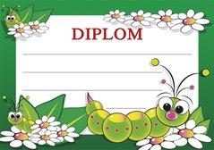 Diplom A5 Dětský BD049
