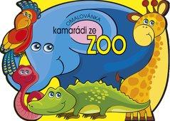 Omalovánka A4 s výsekem - Kamarádi ze ZOO BO903