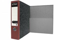 Pořadač archivní A4 Executive, červený hřbet, 7,5cm, složená kapsa, (4848)