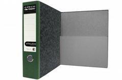 Pořadač archivní A4 Executive, zelený hřbet, 7,5cm, složená kapsa, (4862)