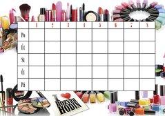 Rozvrh hodin Kosmetika BR051