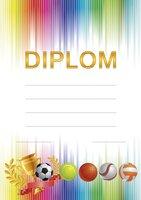 Diplom A5 Míče BD055