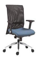 Židle 1580 GALA NET černá, síť opěradlo,              bez područek, dodání samostatně