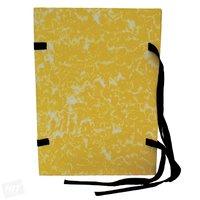 Spisové desky A4 MRAMOR, žluté, 1320g, HIT 177.03