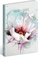 18 měsíční diář Petito-Květ  2021/2022,11x17cm PGD-30242