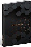 18 měsíční diář Petito-Polygon 2021/2022 ,11x17cm PGD-30243