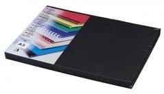 Karton  DELTA A3/250g/100 ks černá - imitace kůže