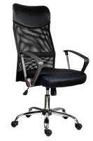 Židle Tennessee, černá síťovina, sedák látka, Z90106000