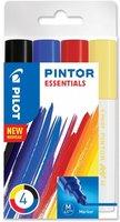 Sada PILOT Pintor Essentials - M hrot 1,4 mm, 4ks 4076/S4-ESSENTIALS