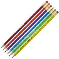 Tužka s gumou 1372 mix barev