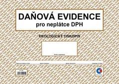 Daňová evidence pro neplátce DPH A4, ekologický ET328