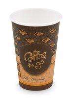 Kelímek papírový Coffee to go 330ml  50ks  76633