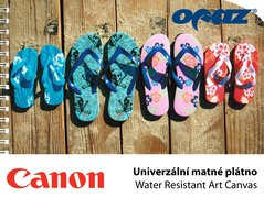 PLOT 9172A Canon Water Resistant Art Canvas   610x15,2m/340g